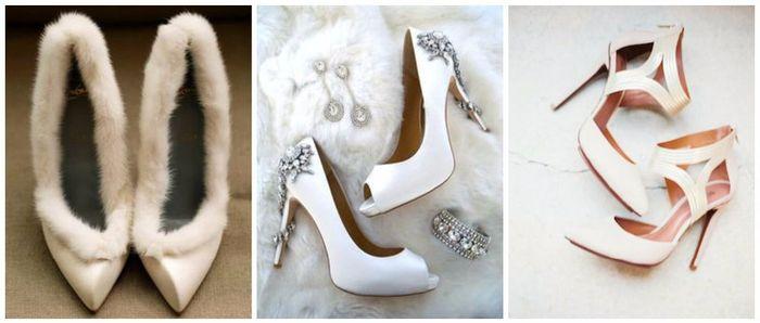 Scopri il colore delle tue nozze... Le scarpe da sposa! 1