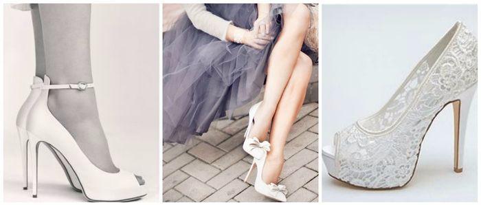 Scopri il colore delle tue nozze... Le scarpe da sposa! 2