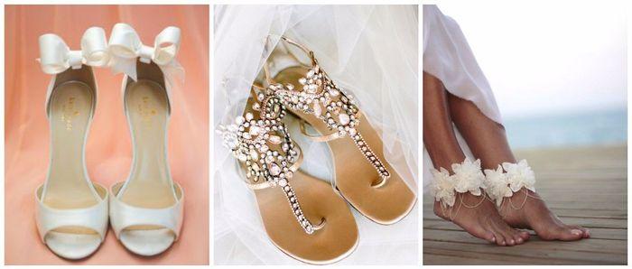 Scopri il colore delle tue nozze... Le scarpe da sposa! 3