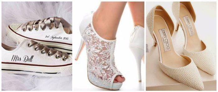 Scopri il colore delle tue nozze... Le scarpe da sposa! 4