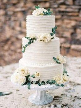 2) 1) Wedding cake
