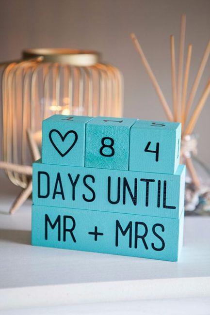 Quanti giorni mancano alle vostre nozze? 1