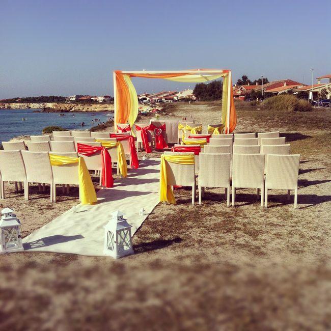 Matrimonio Civile In Spiaggia Sardegna : Matrimonio in spiaggia foto nozze sardegna
