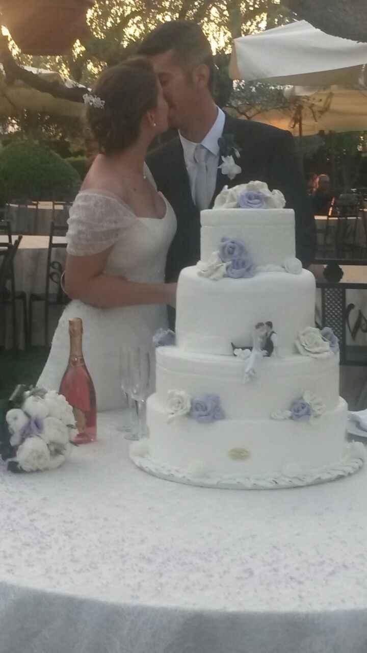 Quale sarà la vostra torta di nozze?  - 1