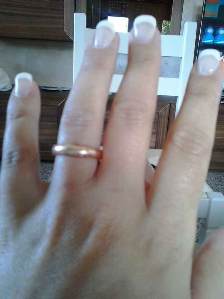 Foto unghie con gel per sposa - 1