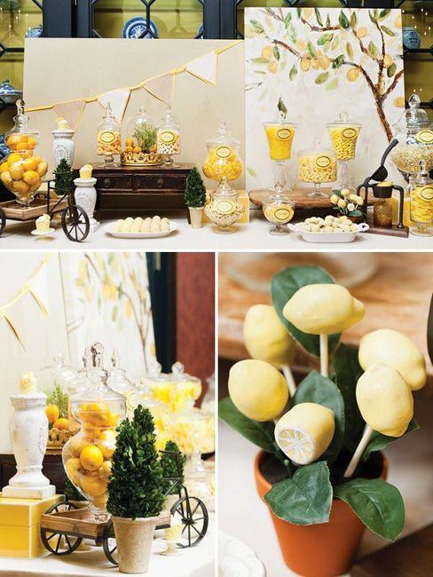 Matrimonio Tema Limoni : Tema limoni come fare la confettata organizzazione matrimonio