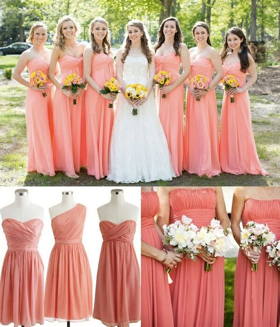 Wedding Gown Color Meanings: Vestito Damigelle Ragazze :)