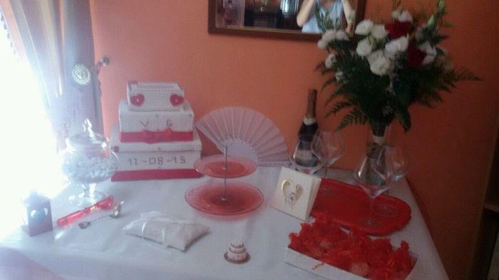 Tavolo sposa a casa organizzazione matrimonio forum - Addobbo tavolo casa della sposa ...