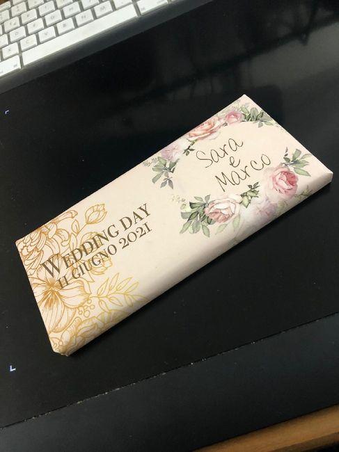 Partecipazioni al cioccolato - 1
