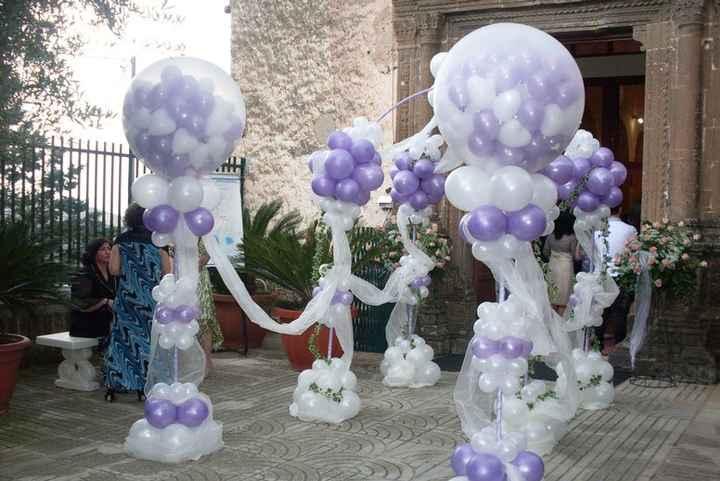 Corridoio di palloncini