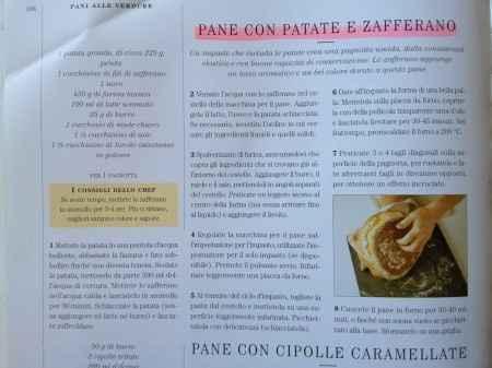 Pane zafferano patate