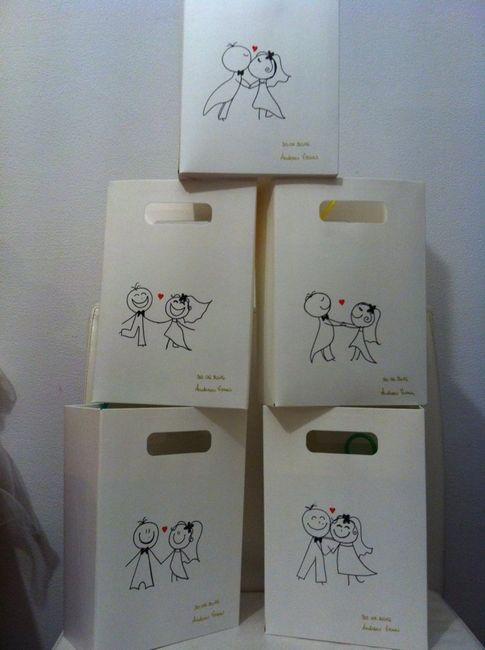 Wedding bag per bambini