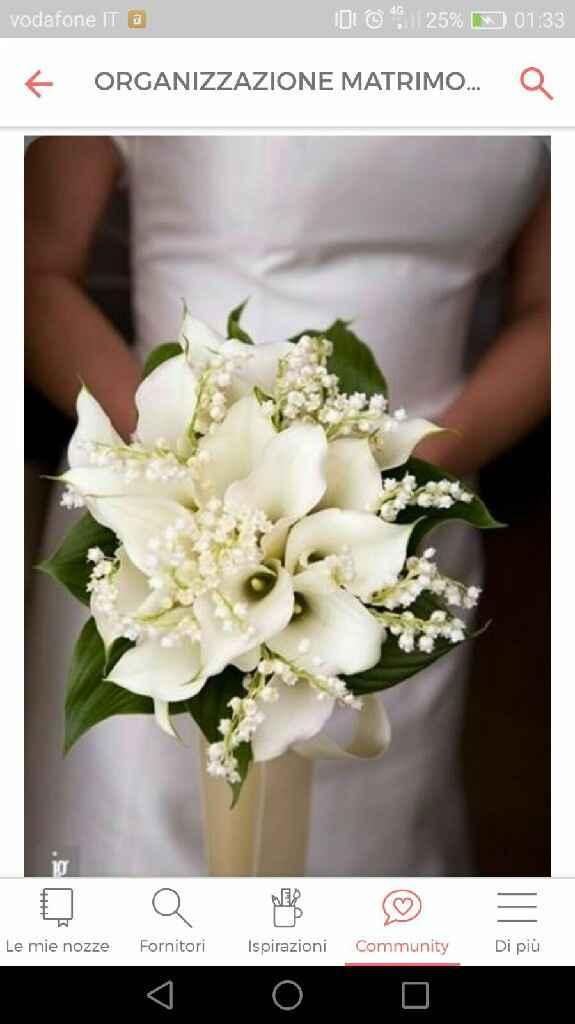 Bouquet di calle gambo lungo - 1