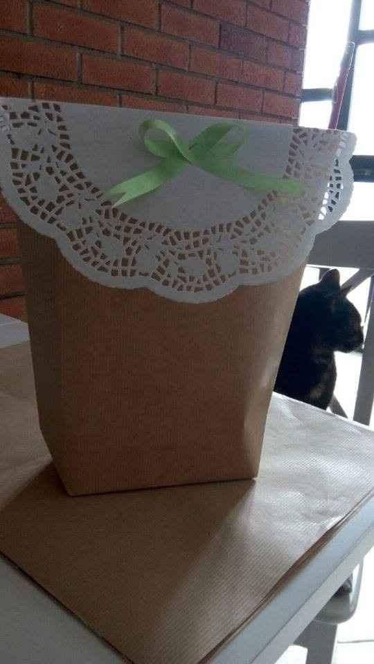 diy wedding bag