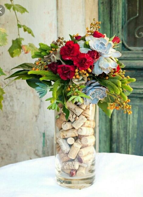 Matrimonio tema vino 5