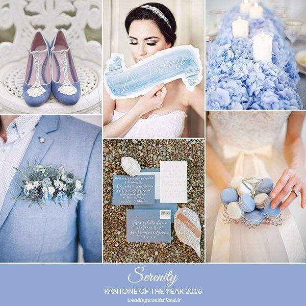 Partecipazioni Matrimonio Azzurro Polvere : Colore matrimonio serenity organizzazione matrimonio forum