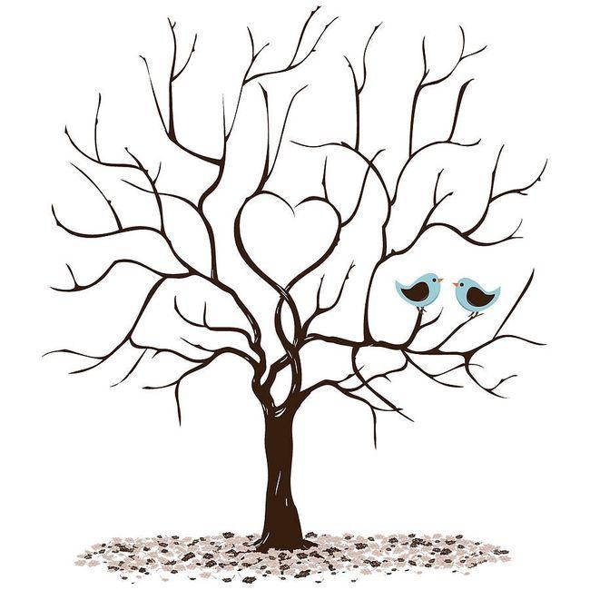 Conosciuto L'albero delle impronte - Fai da te - Forum Matrimonio.com VI08