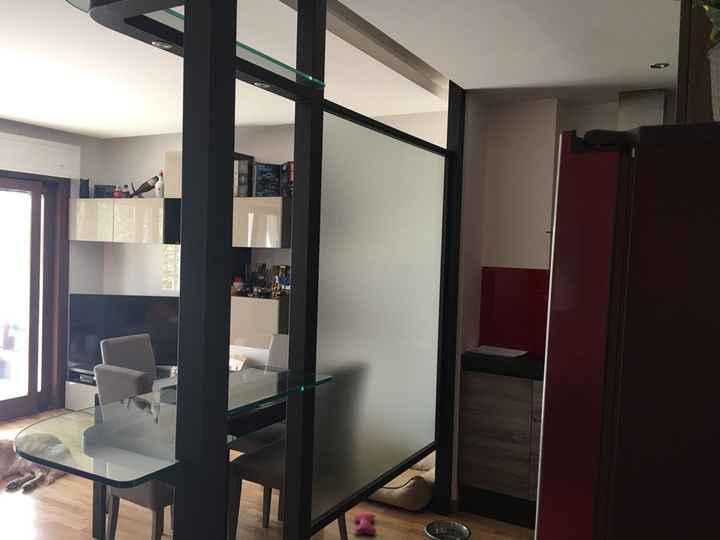Divisore tra parete attrezzata e cucina - 3