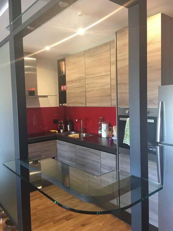 Divisore tra parete attrezzata e cucina - 4