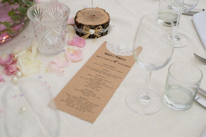 Amato Menù nozze shabby - Fai da te - Forum Matrimonio.com OT57