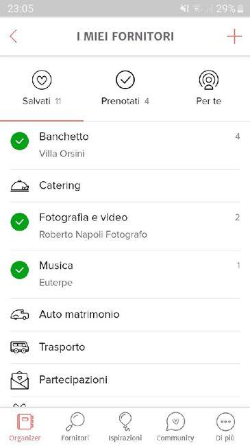 Condividi lo screenshot dei tuoi fornitori 10