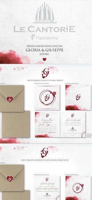 Spose.... condividete le vostre partecipazioni!! 😍😍 1