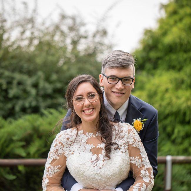 Sposa con occhiali 3