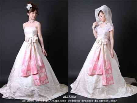 wedding dress kimono