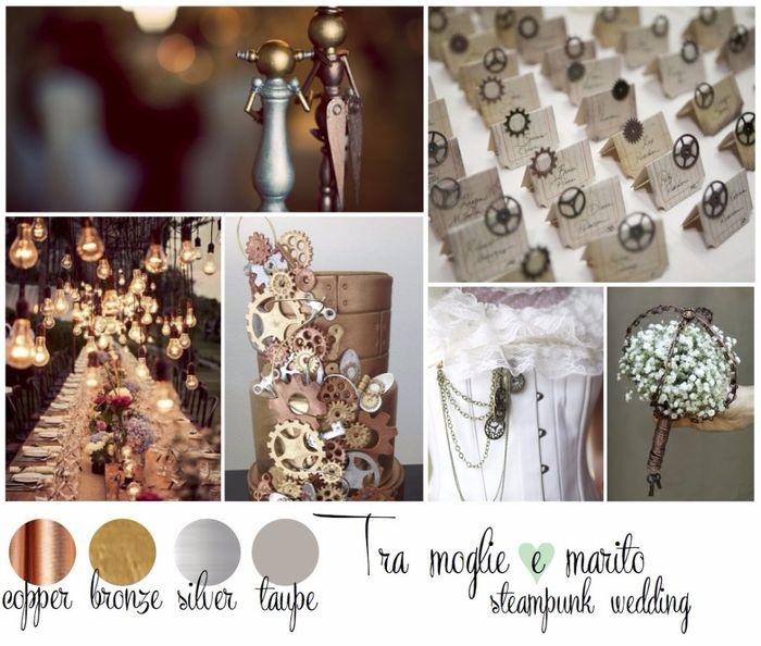 Matrimonio Tema Ottobre : Tema matrimonio steampunk organizzazione