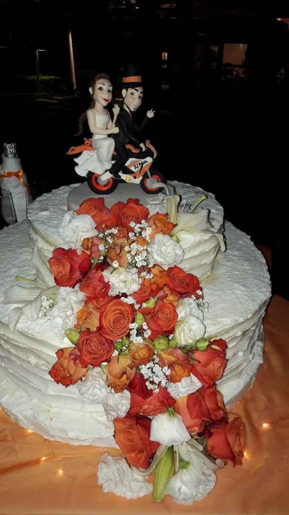 Cake topper moto - 2