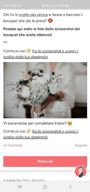 Fai lo screenshot e scopri il tuo bouquet 3