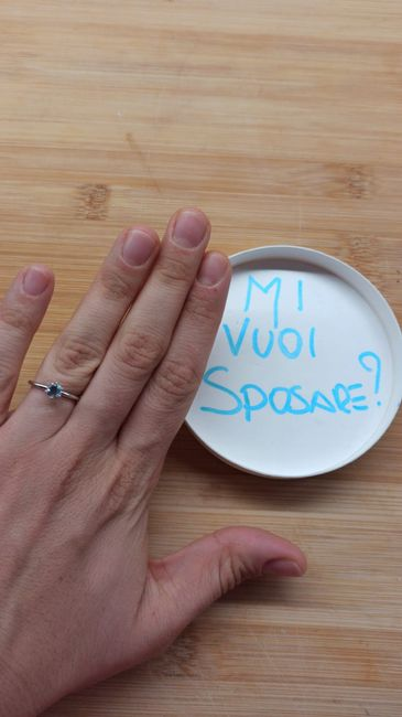 E ora mostraci una foto del tuo anello di fidanzamento! 19