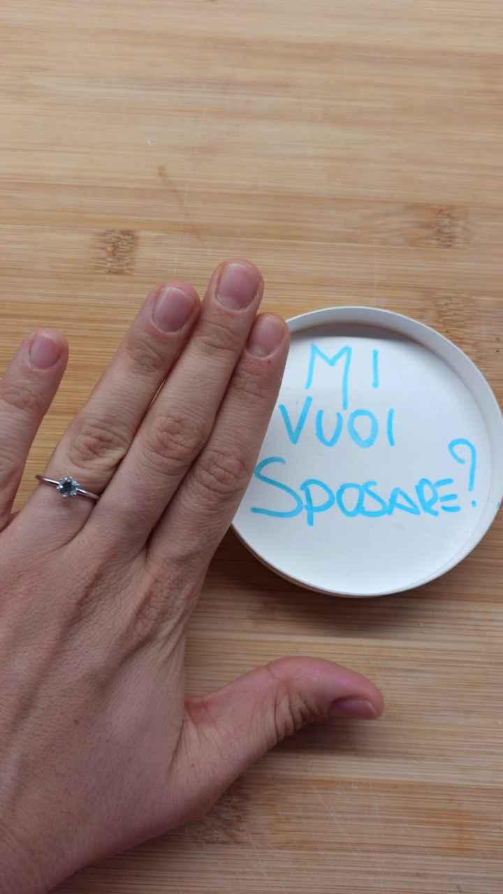 Anello di fidanzamento? - 1