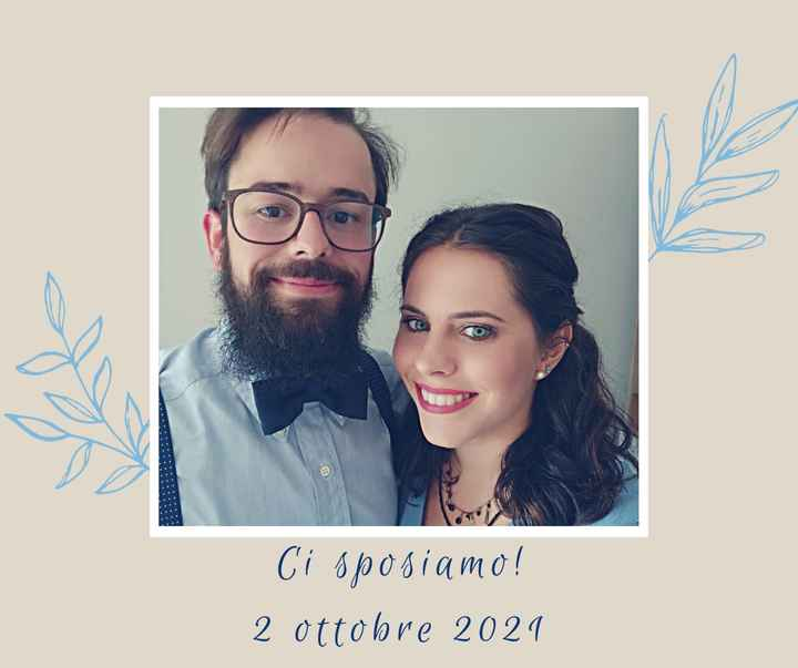 Annunciare il matrimonio - 1