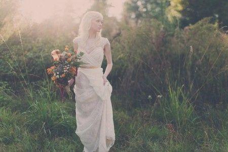 Abito sposa avorio