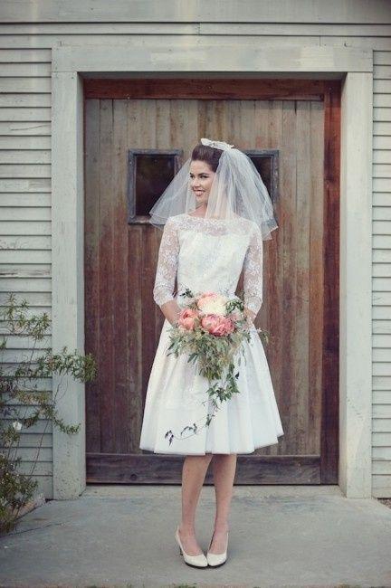 Favorito Abito da sposa corto anni '50 per un matrimonio vintage - Página 5  HD86