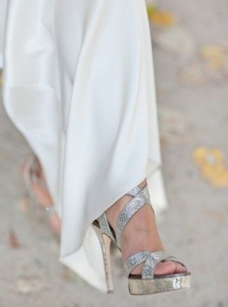 Scarpe Argento Sposa.Scarpe Color Argento 14 Modelli Per Una Sposa Super Chic Moda