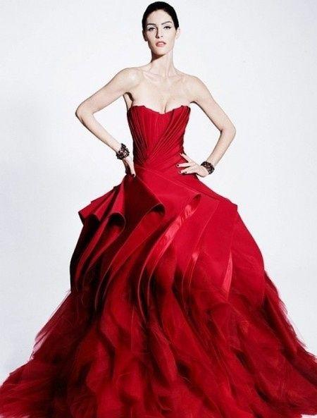Vestito Matrimonio Uomo Rosso : Vestito sposa rosso foto moda nozze