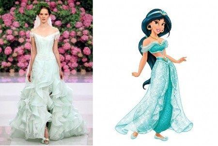 Abito sposa Disney