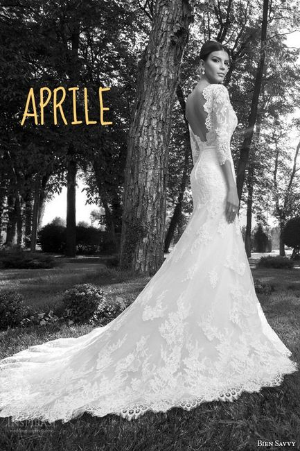 Abito sposa aprile