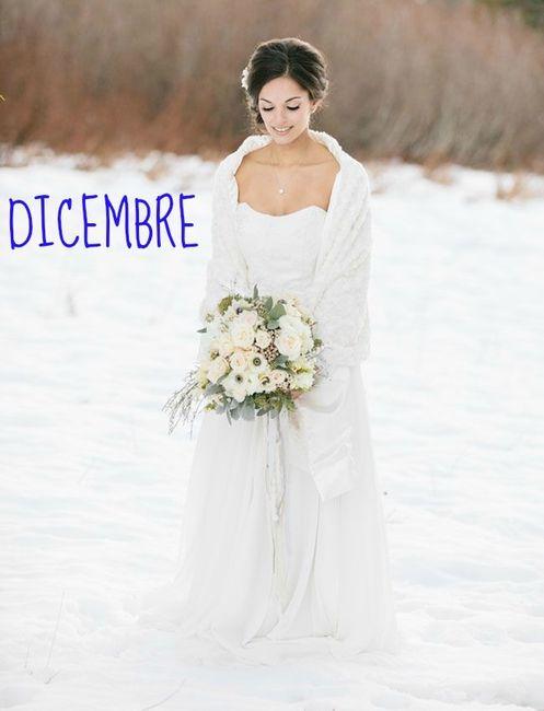 Abito sposa dicembre