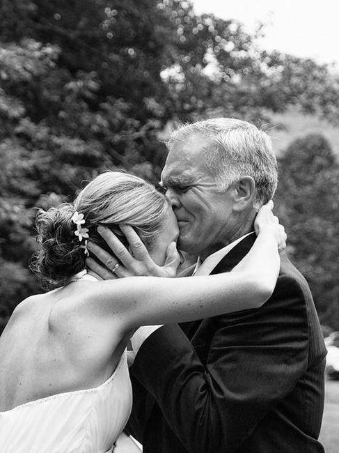 10 emocionantes reacciones del padre de la novia ante el first look 5
