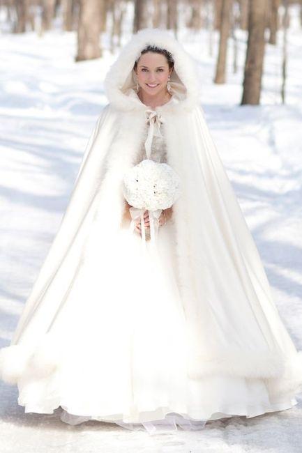 Abito sposa Natale