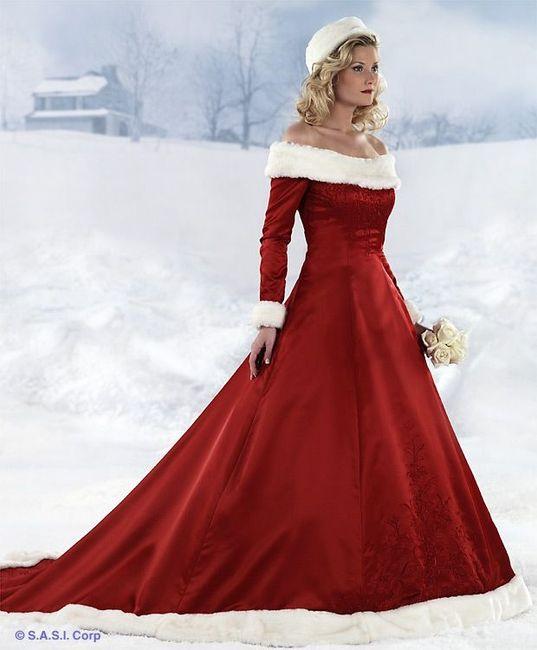 10 vestiti da sposa per un matrimonio a Natale - Moda nozze - Forum ... 4bb73a6ca39