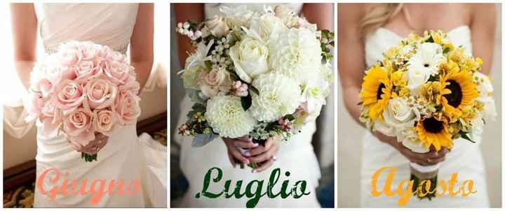 bouquet sposa estate