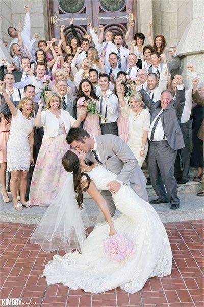 ¿Qué familia supo primero que se casaban? ¿la tuya o la suya? 1
