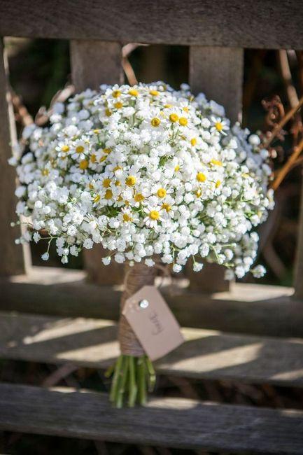 Bouquet Sposa Margherite.L Idea Low Cost E Chic Per Il Vostro Bouquet Le