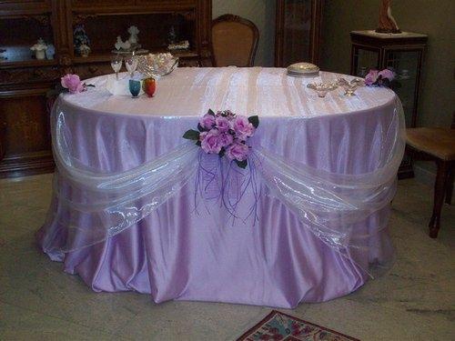 Tavolo casa della sposa prima delle nozze forum - Addobbi matrimonio casa della sposa ...