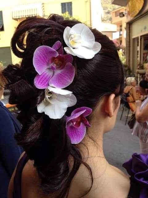 Acconciatura orchidea - 2