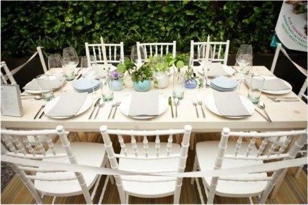 Dove trovare delle sedie cos ricevimento di nozze - Martha stewart decoracion ...